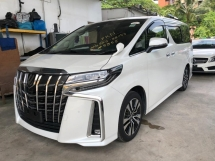2018 TOYOTA ALPHARD 2.5 SC LATEST FACELIFT SUNROOF 4 SURROUND CAMERA 2018 JAPAN UNREG
