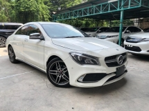 2017 MERCEDES-BENZ CLA CLA180 AMG SPORT FULL SPEC MEMORY SEAT PRE CRASH 2017 JAPAN UNREG