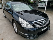 2012 NISSAN TEANA 2.5 250 XV (A) - Memory Seats/Price Include Plate Number