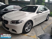 2014 BMW 5 SERIES 528 2.0cc M SPORT DIGITAL METER LANE SENSOR REVERSE CAMERA MEMORY BUCKET SEATS SUNROOF