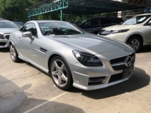 2014 MERCEDES-BENZ SLK Unreg Mercedes Benz SLK200 1.8 AMG Magic Roof Convetible Top Paddle Shift 7G