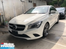 2015 MERCEDES-BENZ CLA Unreg Mercedes Benz CLA180 1.6 Turbo Camera Keyless Paddle Shift 7G