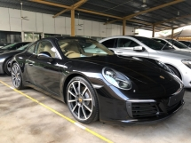 2016 PORSCHE 911 Carrera New Faceliftt 3.0 Turbocharged 7-Speed PDK Transmission 370hp Sport Chrono PCM PASM BOSE Surround Active Chassis Selection Dynamic Light LED PVTS Bluetooth Connectivity Unreg