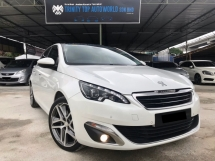 2015 PEUGEOT 308 1.6 THP HIGH SPEC - UNDER WARRANTY 2022 - FULL SERVICE - ALL ORIGINAL PART - LIKE NEW CONDITION - MUST VIEW - SALE HARI RAYA
