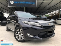 2014 TOYOTA HARRIER 2.0 PREMIUM ADVANCE, POWER BOOT, HIGH SPEC, LIKE NEW CONDITION, WELL CARE, MUST VIEW, WARRANTY PROVIDED, HARI RAYA PROMOTION, DEAL SAMPAI JADI