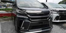 2015 TOYOTA VELLFIRE ZG 2.5CC / SUNROOF / MODELISTA KITS & GRILL / 4 YEARS WARRANTY