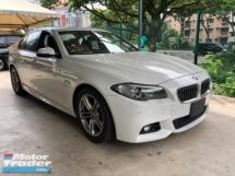 2014 BMW 5 SERIES Unreg BMW 520i 2.0 Turbo Camera M Sport Keyless Push Start 8G