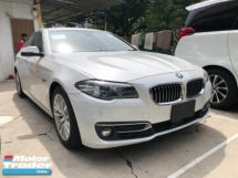 2016 BMW 5 SERIES Unreg BMW 520i 2.0 SE Turbo Camera Keyless Push Start 8Speed