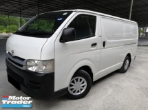 2007 TOYOTA HIACE Toyota Hiace 2.5 MT ONE OWNER TIP TOP CONDITION