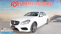 2015 MERCEDES-BENZ E-CLASS E250 AMG AVANTGARDE SURROUND CAMERA SEMI LEATHER SEATS RAYA PROMOTION
