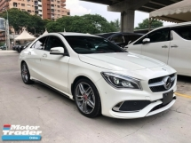 2017 MERCEDES-BENZ CLA CLA200 CLA180 AMG Edition 7G-DCT Turbocharged NEW FACELIFT Distronic PLUS Memory Bucket Seat Multi Function Paddle Shift Steering Intelligent LED Light Smart Entry Push Start Button Reverse Camera Bluetooth Connectivity Unreg