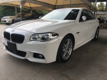 2014 BMW 5 SERIES 528I M-SPORTS DIGITAL METER SUN ROOF TWIN TURBOCHARGED 245HP NEW FACELIFT