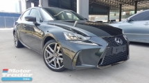 2017 LEXUS IS250 2017 Lexus IS200T F Sport Japan Spec Unregister for sale
