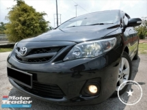 2012 TOYOTA ALTIS 2.0V PADDLE SHIFT/FLOAN/EASY APPROVED/LOW RATE/CONDITION LIKE NEW