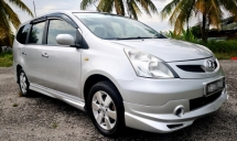 2008 NISSAN LIVINA (A) 1.8CVTC / TIPTOP CONDITION / BLACKLIST CAN LOAN