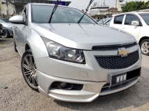 2012 CHEVROLET CRUZE 1.8(A) Full Spec GPS Full bodykits Perfect Condition