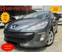 2011 PEUGEOT 308 1.6 Turbo Full Services Record Mileage Only 54k km