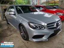 2014 MERCEDES-BENZ E-CLASS E250 AMG Facelift Unregister Japan Spec