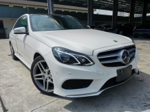 2015 MERCEDES-BENZ E-CLASS E250 AMG 4CAM PANROOF UNREG