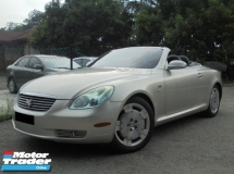 2001 TOYOTA SOARER 4.3 Convertible SCV430 V8 5Speed SUPERB LikeNEW Reg.2006