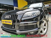2010 AUDI Q7 3.0 TDI QUATTRO S-LINE FACELIFT ,DIESEL EURO5-  GPS - REVERSE CAMERA - 4NEW TYRE - NON SMOKING OWNER - ACC FREE, 1LADY OWNER, FULL LOAN-R,0 D.PAYMENT...LIKE NEW