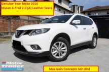 2016 NISSAN X-TRAIL 2.0 (A) New Model (Ori Year Make 2016)(Leather Seats(7 Seaters)