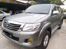 2012 TOYOTA HILUX DOUBLE CAB 2.5 (AT)