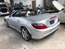 2014 MERCEDES-BENZ SLK SLK200 AMG SPORT JAPAN SPORT CHRONO PANORAMIC ROOF ACTUAL YR 2014 FREE GMR WARRANTY