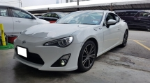 2012 TOYOTA 86 2.0 GT (A) REG 2015, ONE CAREFUL OWNER, LOW MILEAGE DONE 41K KM, FRONT & REAR CAMERA, 17
