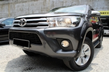 2017 TOYOTA HILUX DOUBLE CAB 2.5G (AT)