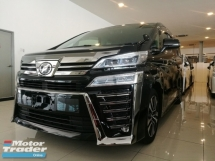2018 TOYOTA VELLFIRE 2.5 ZG New Facelift Full Leather Pre Crash Unreg 18