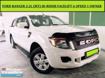 2014 FORD RANGER 2.2 (M) HI RIDER FACELIFT 1 OWNER FREE WARRANTY