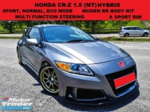 2012 HONDA CR-Z 1.5 (MT) HYBRID FULL MUGEN RR BODY KIT SPORT & ECO MODE