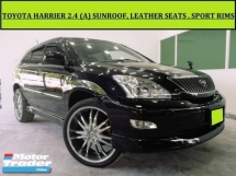 2004 TOYOTA HARRIER 240G (A) L PACKAGE PRIME SELECTION SUNROOF LEATHER SEATS 1 OWNER