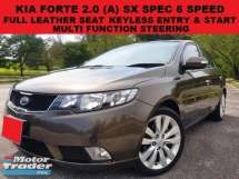 2010 KIA FORTE 2.0 SX (A) 6 SPEED SEDAN LEATHER SEAT KEYLESS ENTRY & START