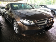 2016 MERCEDES-BENZ E-CLASS E200 UNDER WARRANTY NEW MODEL