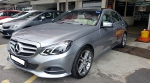 2013 MERCEDES-BENZ E-CLASS E250 CGI AVANTGARDE (7G-TRONIC) 2.0cc (A) REG 2013, ONE DIRECTOR OWNER, FULL SERVICE RECORD, LOW MILEAGE DONE 57K KM, FREE 1 YEAR GMR CAR WARRANTY