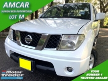 2012 NISSAN NAVARA 2.5L CALIBRE (A) PICK-UP TRUCK SALE