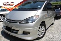 2003 TOYOTA ESTIMA Toyota ESTIMA 2.4 AERAS FRT&RR CAMERA TIPTOP YR 03