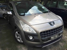 2012 PEUGEOT 3008 1.6 THP (A) One Owner Low Mileage