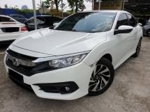 2016 HONDA CIVIC 1.8S I VTEC FULL SERVICE HONDA MALAYSIA 5 YEARS WARRANTY ~NICE NUMBER 188~