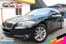 2012 BMW 5 SERIES Bmw F10 520i 2.0 TWiNTURBO FLIFT BROWNLEATHER 2012