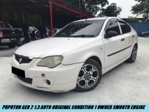 2007 PROTON GEN-2 1.3 AUTO ORIGINAL CONDITION TIPTOP UNIT 1 OWNER SMOOTH ENGINE