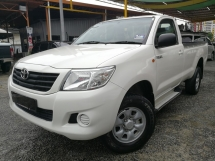 2012 TOYOTA HILUX SINGLE CAB 2.5
