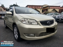 2004 TOYOTA VIOS 1.5G (A) 1 OWNER - LOW MILEAGE - LEATHER SEAT - PERFACT CANDITION - VIEW TO BELIEVE....