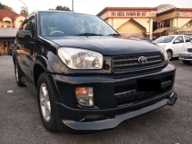 2002 TOYOTA RAV4  2.0 SPORT (A) 1 OWNER - NICE NO 2823 - SUPER LOW MILEAGE 122K ONLY - PERFACT LIKE NEW -