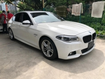 2014 BMW 5 SERIES 528i M SPORT SUNROOF JAPAN UNREG