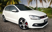 2011 VOLKSWAGEN POLO GTI SPORT 1.4 TURBO / SUN ROOF / PADDLE SHIFT / TIPTOP CONDITION