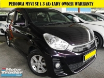 2014 PERODUA MYVI PERODUA MYVI 1.3 SE (A) LADY OWNER GOOD CONDITION