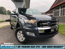 2017 FORD RANGER 2.2 XLT MANUAL PREMIUM HIGH SPEC UNDER WARRANTY ONE OWNER SHOWROOM CONDITION LIKE NEW CAR 100% NEW